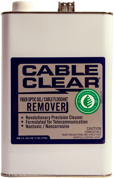 Cable Clear - 2 - BioChem Systems, Safe Solvents