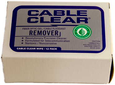 Cable Clear Wipes - 2 - BioChem Systems, Safe Solvents