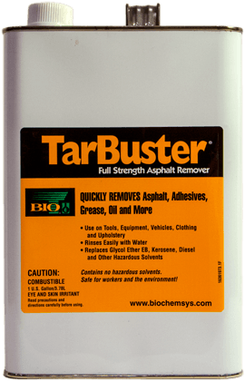 TarBuster - 2 - BioChem Systems, Safe Solvents