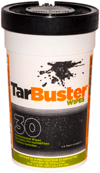 TarBuster Wipes - 30 - BioChem Systems, Safe Solvents